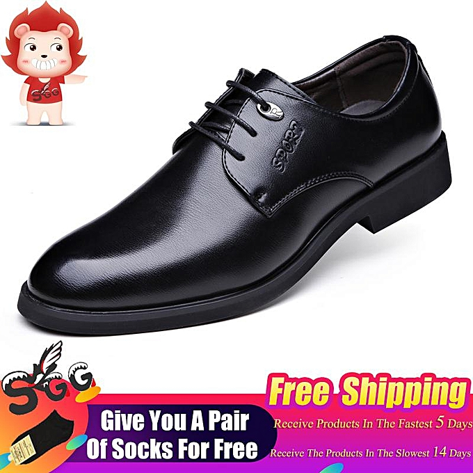 35f31ad807 2019 SGG Classic Formal Shoes Men s Patent Leather Oxford England Shoes  Men s Large Size Social Flat