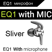 QKZ EQ1 Metal Earbuds Earphone New Headset with Microphone PC Mobile Phone Accessory xYx-S
