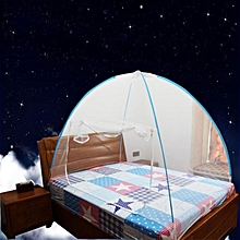 Mosquito Nets Bottomed Keeps Away Insects & Flies Indoor Outdo-Blue