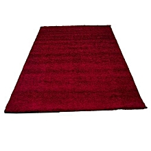 Shaggy Carpet- 8ft by 11ft - Red