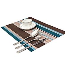 Table Mat - 45cm x 32cm - 6Pcs - Multicoloured
