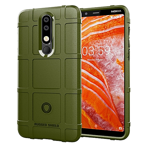 check out 54aab 89a63 Nokia 3.1 Plus / Nokia X3 Case Rugged Shield Silicone Heavy Duty Armor  Shock-Proof Protective Case Cover