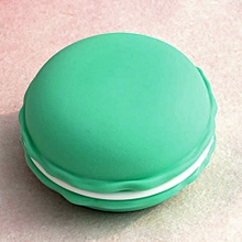bluerdream-Mini Earphone SD Card Macarons Bag Storage Box Case Carrying Pouch GN-Blue