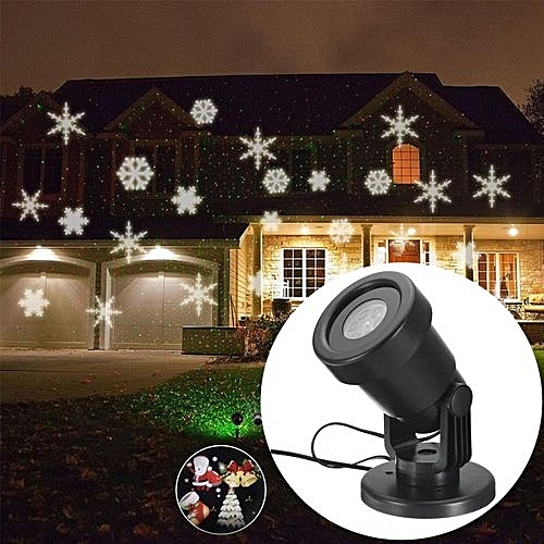 outdoor moving laser projector led lights christmas landscape xmas decor lamp eu