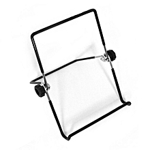 Universal Lightweight Tabletop Foldable Tablets Holder Multi-Angle Bracket black