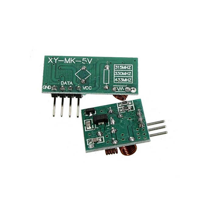 315/433Mhz WL RF Transmitter Receiver Link Kit Module Alarm For Arduino ARM  MCU