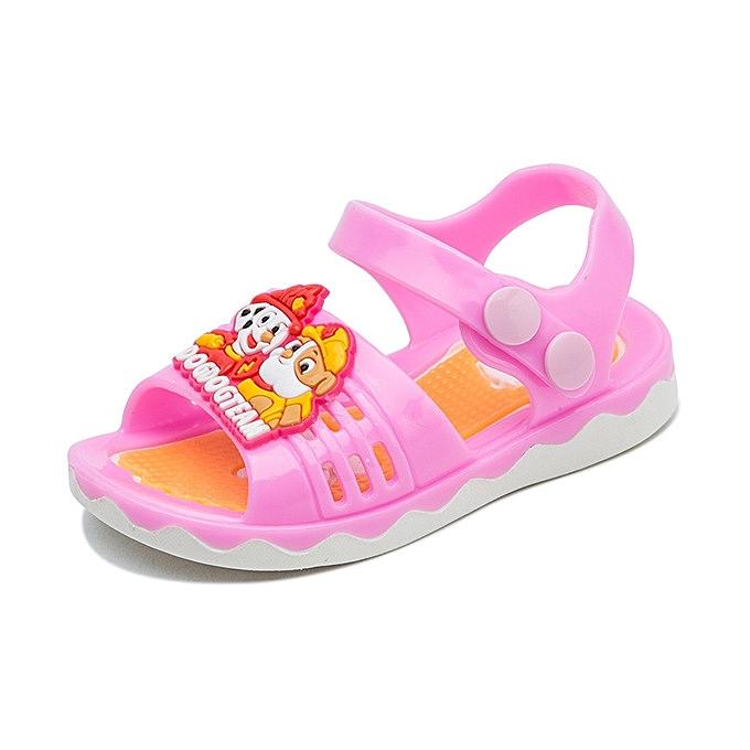 c75fe700c New style Baby Sandals Girls Sandals Children s Beach Shoes Non-slip Soft  Sandals Child Summer