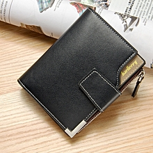Men Wallets Zipper Pocket Men Leather Wallet Male Purse