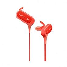 MDR-XB50BS - In-Ear Sport Headphones - Red