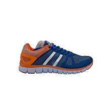 Running Shoes Men- E53057hroyal/Flo Orange- 42