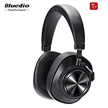 Bluedio T3 (Turbine 3rd) 3D Bass Foldable Wireless Bluetooth 4.1 Stereo Headphones Headset (Black)