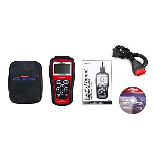 OR KW808 EOBD OBDII 2 Car/Vehicle Engine Diagnostic Scanner Code Reader  Tool 0