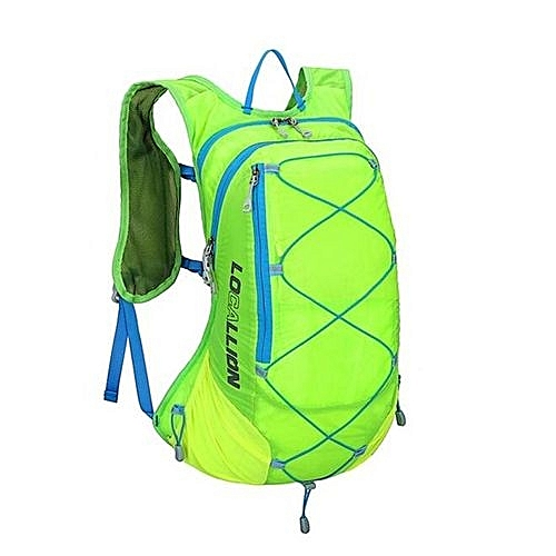 5ba3f8a2b Fashion Local Lion 15L Waterproof Polyester Outdoor Backpacks Travel Cycling  Men's Backpacks Rucksack Hiking Climbing Knapsack(Light Green)