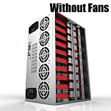 Open Air Mining Frame Rig Case Holder For 12 GPU Crypto Currency Rigs BTC Miner