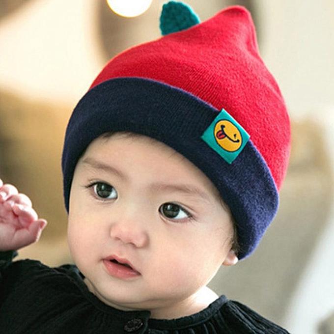 2b85fb3001f ... jiuhap store Cute Toddler Kids Girl Boy Baby Infant Winter Warm Crochet  Knit Hedging Cap RD ...