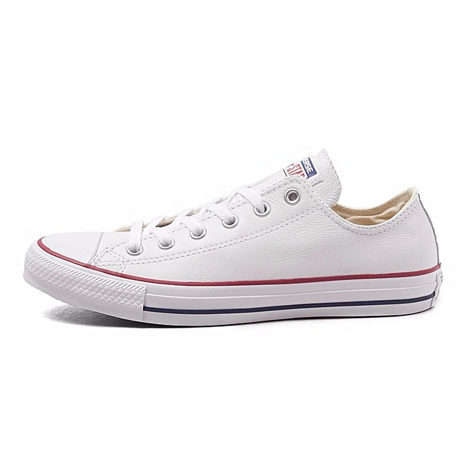 7d3438815 Fashion Converse All Star Canvas Shoes Unisex MEN'S & WOWEN'S Skateboarding  Sneakers Low Classic Shoes White