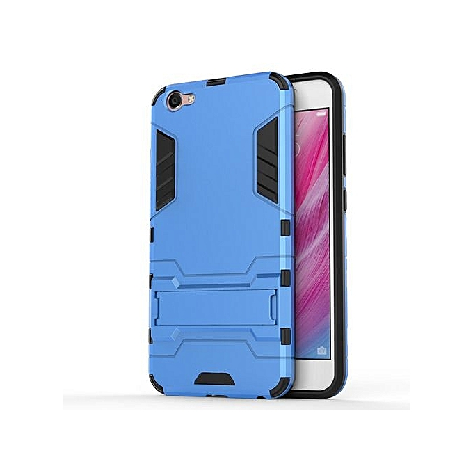 low priced 1139b 538f9 Phone Case For Vivo Y55,Iron Hard PC Man Armor Shield Case,Hybrid Silicone  +TPU Cover Case For Vivo Y55/Y55S/Y55L