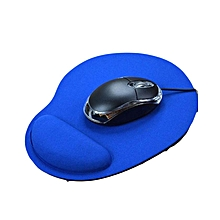 Ergonomic Mouse Pad with Wrist Support Soft EVA Mat for Laptop Desktop blue