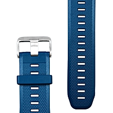 TPU Wrist Watch Band Strap for VIBE 3 Bracelet Replacement - BLUE