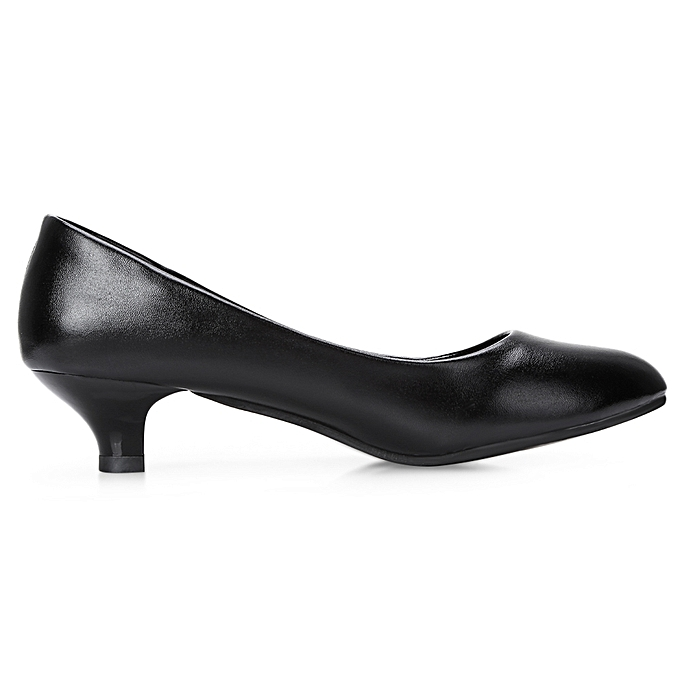 0a575c5683be ... Leadsmart Business Work Matte Coating Low Heel Pumps Women Office  Interview Shoes ...