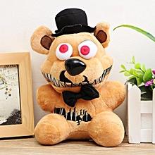 Cute Plush Stuffed PP Cotton Bear Foxy Duck Rabbit Puppet Children Xmas Gift Bear