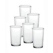 Unie Tumblers - Set of 6 - 20CL - Clear