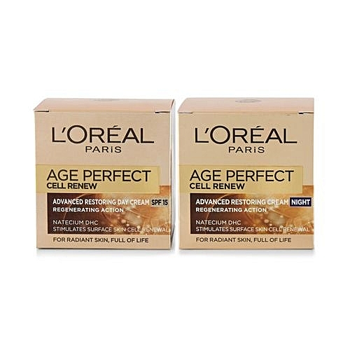 Age Perfect Cell Renew Advanced Restoring DAY Cream SPF 15 - 50ml + Age Perfect Cell