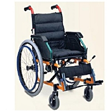 Wheel Chair Folding Premium Aluminium Self Drive