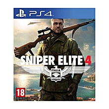 Playstation 4 - Sniper Elite 4
