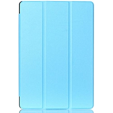 """For Asus Zenpad 10 Case, Ultra Slim Case + PU Leather Smart Cover Stand Auto Sleep/Wake For ASUS 10.1"""" Tablet Z300C/M/CG, Sky Blue"""