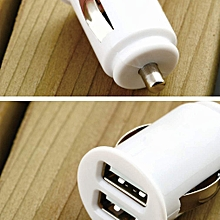 New Car Cigarette Powered Dual 2 Port USB Car Charger for iPad iPhone 4G 4S