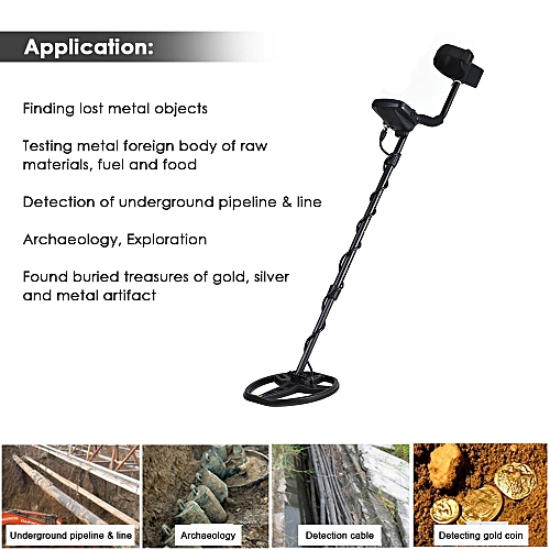 Generic TIANXUN Portable Easy Installation Underground Metal Detector High Sensitivity Metal Detecting Tool with LCD Display