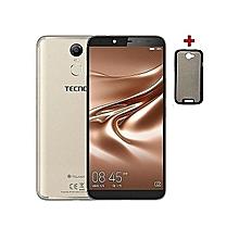 Pouvoir 2 - [16GB+3GB RAM] - 6.0'' HD - 4GLTE - 5000 mAH Battery - Face ID - Dual SIM - Fingerprint -champagne gold
