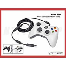 XBOX 360 pad - wired controller PC and Xbox - White