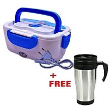 Electric Lunch Box + Free Mug