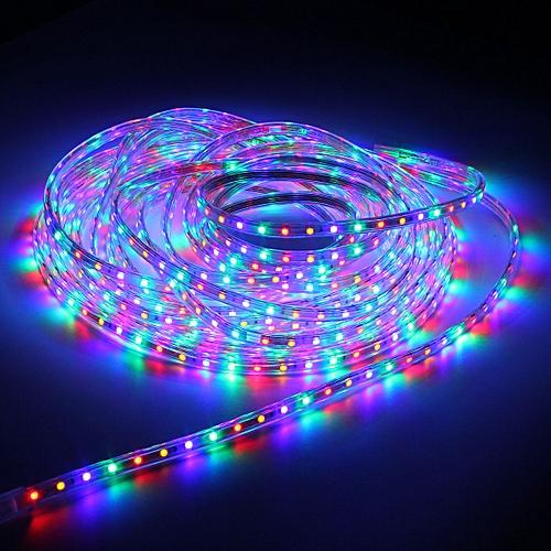 superior quality f81e3 3cb50 15m LED Strip Light 60leds/m Flexible tape rope Light Waterproof 220V