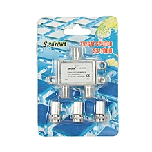 2-Way Splitter - SS7000 -sliver