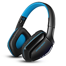 Fashion B3506 Wired Wireless Bluetooth 4.1 Professional Gaming Headphones(BLUE AND BLACK)