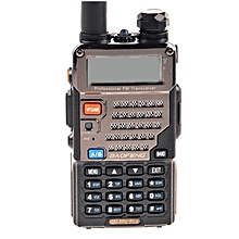 Baofeng UV-5RE 5W 128CH VHF/UHF Dual Band Portable Two Way Walkie Talkie 1 Pcs - Gold