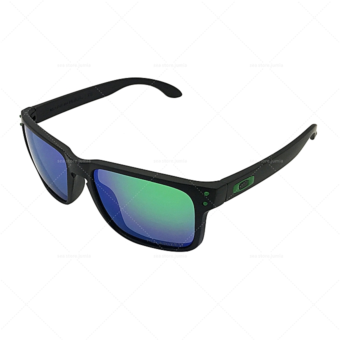 a52cc5cf91 Oakley Holbrook Polarized Sunglasses OO9102 - Black Green   Best ...