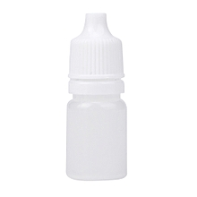 50PCS 5ml Empty Plastic Squeezable Dropper Bottles Eye Liquid Dropper