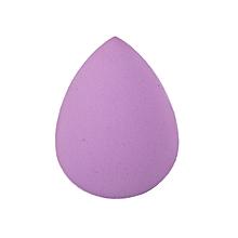 Purple sponge beauty blender