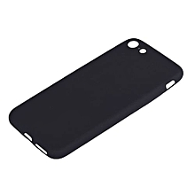 Iphone 7 Rubber Cover Case - Black