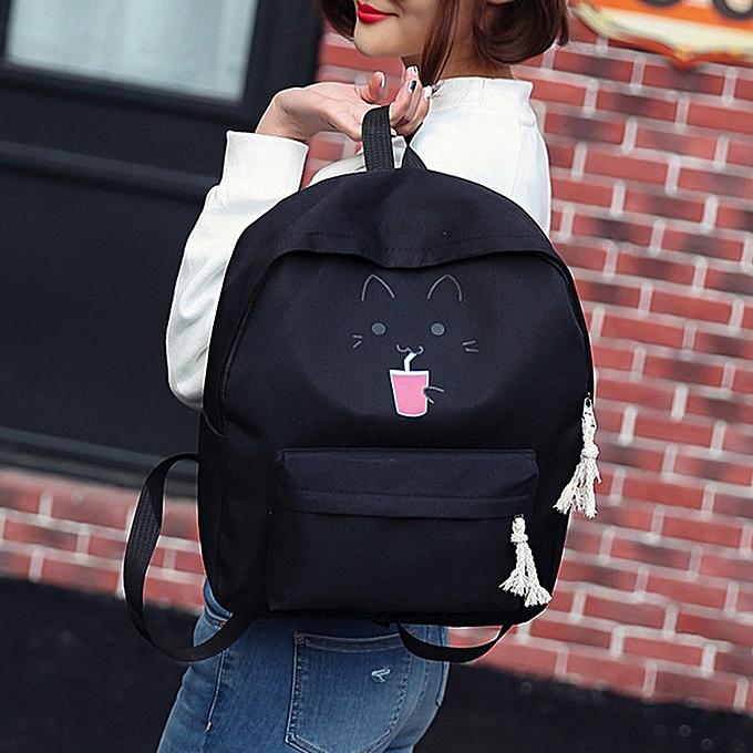 Hiamok Baby Kids Girl Boy Cartoon Zipper Backpack School Bags Fashion  Shoulder Bag 41e0b21a5bfc7