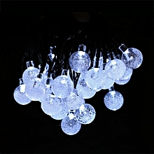 New Solar Powered 30 LED String Light For Room Garden Home Christmas Party Decoration-White