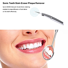 Electric  Tooth Stain Eraser Plaque Remover Dental Cleaning Tool Kit Teeth Whitening Polisher Home Use