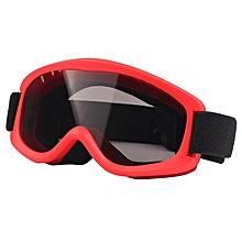 Sg-152 Anti-uv Anti-fog Anti-scratched Lens Skate Ski Snowboard Goggles With Adjustable Jacquard Strap For Kids(black)