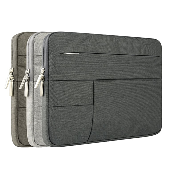 9344e0f4d321 Laptop Bag Notebook Storage Bag Protection Sleeve 13 Inches For Macbook  dark gray