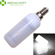 E14 12W 2200LM 6000K SMD - 5730 56 LEDsFrosted Case Dimmable LED Light Bulb - Cool White Light