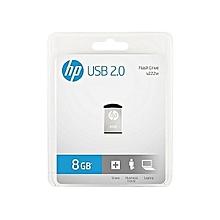 MINI V222W USB 2.0 - 8GB - Flash Disk - Silver
